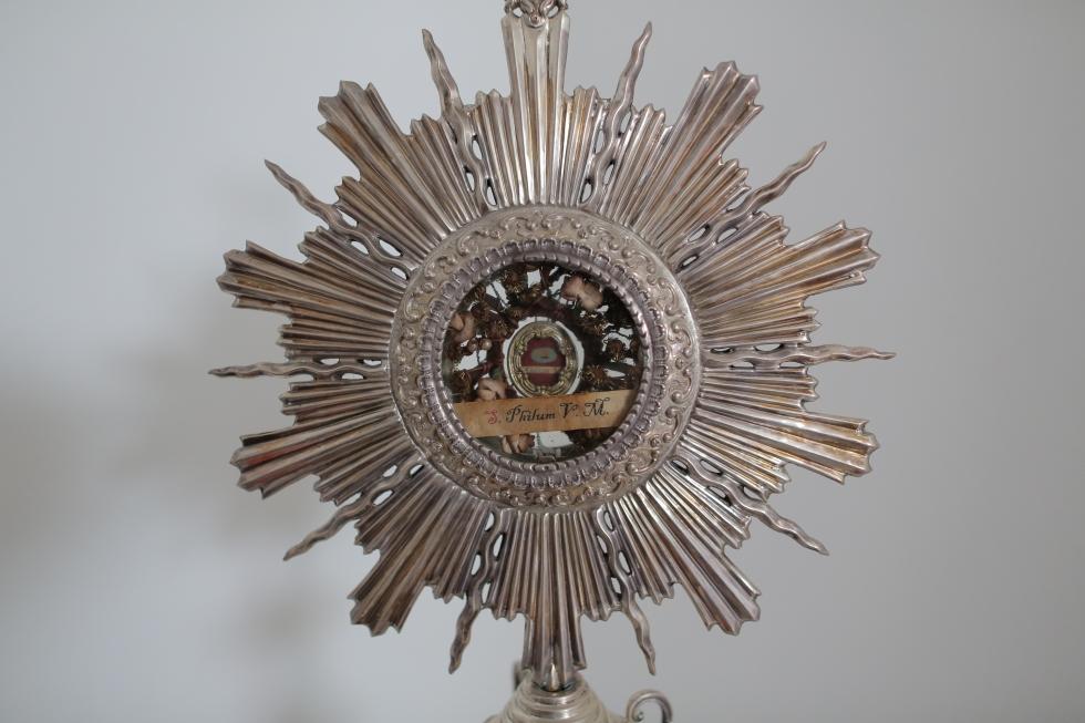 Reliquias de Santa Filomena en nuestra parroquia